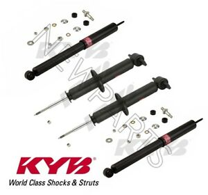 For Chevrolet Camaro 1993 2002 4 Shock Absorbers Suspension Kit Kyb Excel G