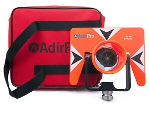 Adirpro All metal Single Tilt Prism With Case Surveying Seco Topcon Spectra