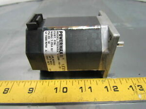 Pacific 1 8 Deg Stepper Motor 2 phase 1 25 Amp 1500 Rpm 65v Nema 23 Powermax Ii