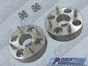 Hub Centric 1 5 38mm Wheel Adapters Spacers 4x100 For Nissan Nx Pulsar Sentra