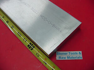 1 x 4 1 2 Aluminum Flat Bar 14 Long Solid 6061 T6511 Plate Mill Stock