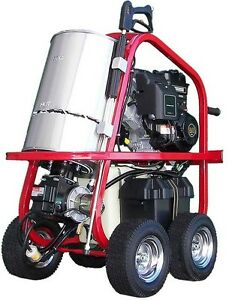 Portable Hot Water Pressure Washer 2 700 Psi 2 5 Gpm Gas Diesel Heated