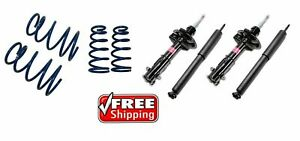 Kyb Struts Shocks Sport Lowering Springs Suspension For 02 06 Nissan Altima