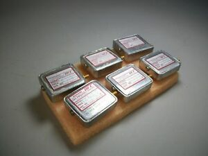 Ofc Ovenaire Precision Crystal Oscillator Assortment lot Of 6