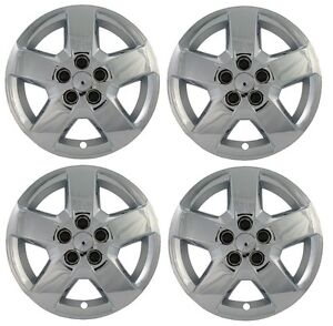 New 16 Chrome Bolt on Hubcaps Wheelcovers Set For Hhr Malibu Cobalt G5