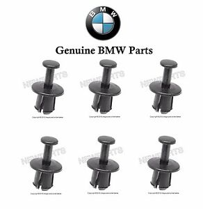 6 Pieces For Bmw Engine Cooling Fan Shroud Clip E30 E31 E32 E34 E36 E38 E46
