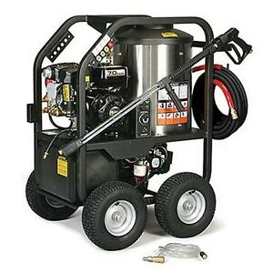 Portable Hot Water Pressure Washer Gas 2 400 Psi 2 7 Gpm 12v Dc Burner