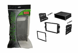Gm Chevy Single Double Din Dash Kit After Market Radio Stereo Installation