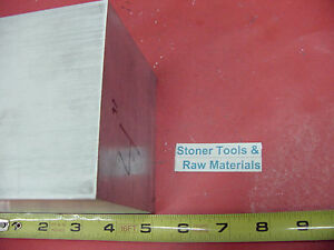 4 X 4 Aluminum 6061 Square Solid Bar 5 Long T6511 Flat New Mill Stock