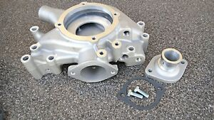 Bb Mopar dodge 350 440 Aluminum Water Pump Housing And Thermostat Inlet neck