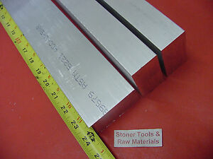 3 Pieces 3 4 X 2 1 2 Aluminum 6061 Flat Bar 24 Long T6 750 Plate Mill Stock