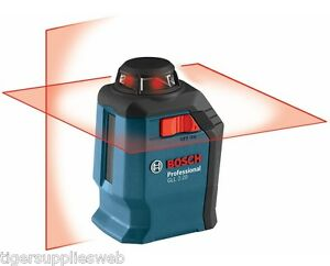 Bosch Gll 2 20 Self leveling 65 Cross line Laser With 360 Horizontal Plane
