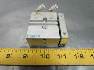 Festo Pneumatic Guided Drive Double Acting Air Cylinder 12mm Bore 10mm Stroke
