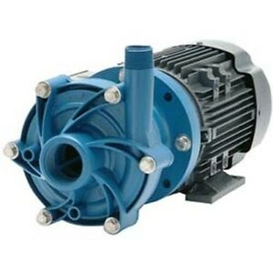Chemical Pump Poly 3 4 Hp 115 208 230v 1 Ph 45 Gpm Magnetic Drive
