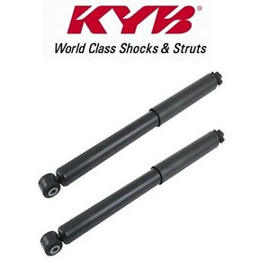 For Jeep Grand Chereokee Commander Set Of 2 Rear Shock Absorbers Kyb Excel g