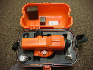 Sokkia C41 Automatic Survey Surveying Level C 41 W hard Case
