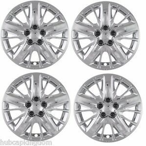 New 2014 2017 Chevrolet Impala Chrome 18 Wheelcover Hubcap Set Of 4 Covers