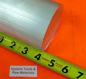 4 Aluminum 6061 Round Rod 4 Long Solid T6511 New Extruded Lathe Bar Stock