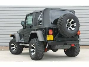 1997 2006 Jeep Wrangler Tj Replacement Black Soft Top And Rear Tinted Windows