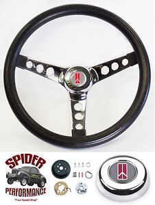 1969 1992 Cutlass F85 442 Omega Toronado Steering Wheel 13 1 2 Classic Chrome