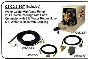 Weldtec Light Duty Tig Cooler Kit For Lincoln C25 1 csk2 5 1gt