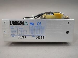 Lambda Tdk Hsb12 1 7 Linear Power Supply New 12 Vdc 20 Watts 1 7 Amp
