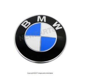 For Bmw Genuine 323ci 325ci 330ci M3 Convertible Emblem Roundel For Trunk Lid