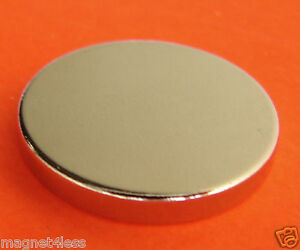 100 Pieces Of 1x1 8 Inch Grade N42 Rare Earth Neodymium Disc Magnet