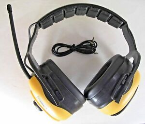Condor Electronic Earmuffs With Fm Radio And Mp3 Connector 4frn1 5e1