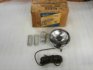 30s 40s 50s Chevrolet Harley Buick Pontiac Olds Guide 5 2025 A Fog Light Lamp