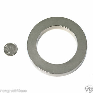 1 Strong 3 Odx 2 Idx 1 2 Inch Rare Earth Neodymium Ring Magnet Grade N42