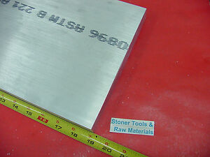 1 x 8 x 19 Aluminum 6061 Flat Bar T6511 Solid 1 000 New Plate Mill Stock