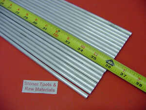20 Pieces 1 4 Aluminum 6061 Round Rod 36 Long T6511 Solid Extruded Bar Stock