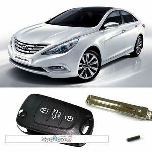 2011 2012 Sonata i45 Door Remote Control Folding Key Korea Oem Parts