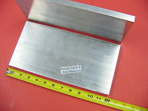 2 Pieces 5 8 X 6 Aluminum 6061 Flat Bar 12 Long 625 T6511 Plate Mill Stock