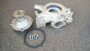 Bb Mopar dodge 350 440 Aluminum Water Pump w aluminum Impeller And Housing Set