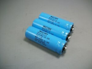 Mallory Model Cg922u025r4c Capacitor lot Of 3pieces