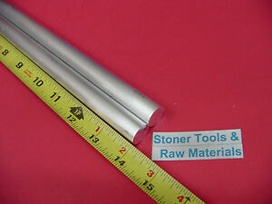 2 Pieces 5 8 Aluminum 6061 Round Rod 14 Long T6511 Solid Extruded Bar Stock
