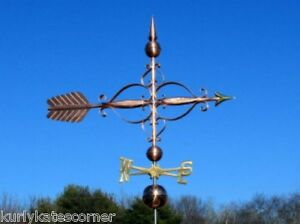 Copper Large 48 Fancy Arrow Weathervane Made In Usa 430