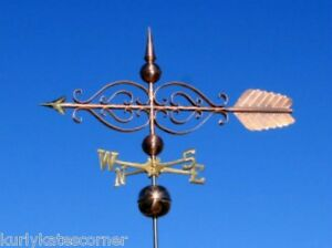 Copper Large 48 Fancy Arrow Weathervane Made In Usa 431