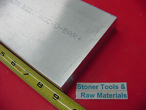 2 X 5 Aluminum 6061 Flat Bar 9 Long Solid T6511 Extruded Plate Mill Stock