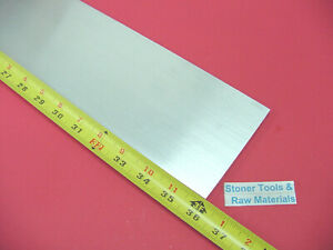 3 8 X 4 Aluminum 6061 Flat Bar 36 Long T6511 Solid Extruded Plate Mill Stock