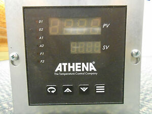 Athena Temperature Control Panel Meter 25c a b 0 b b 0 00 0 ce And Probe
