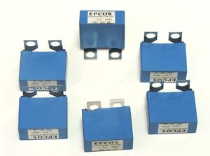 Lot Of 6 Epcos B32656s8125k565 Capacitors 1 2uf 850v Mkp 10 V2