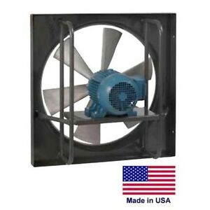 24 Exhaust Fan Explosion Proof 3 Hp 230 460v 10 500 Cfm Commercial
