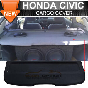92 95 Honda Civic Eg Oe Factory Style Black Rear Cargo Hatch Trunk Cover