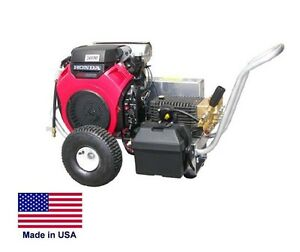 Portable Pressure Washer 5 Gpm 4000 Psi Ar Pump 20 Hp Honda Gun