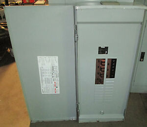 X Siemens 200 Amp Main Breaker Panel 3r W3040b1200cu 208y 120 Vac 30 Cir 1ph