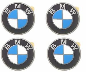 For Bmw E10 2002 E21 E30 Genuine Set Of 4 Wheels Center Cap Emblems 36131181082