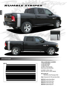 For Dodge Ram Ee2123 Graphics Decal Emblems Stickers Stripes Trim 2009 2015